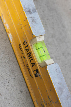 Brisbane carpenter - spirit level
